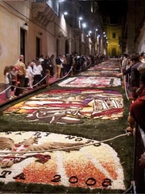 Infiorata di NOTO del 2008 - Siracusa - Sicilia