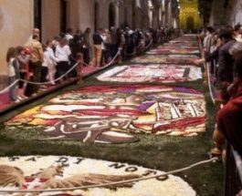 Video infiorata Noto 2011